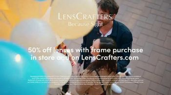 LensCrafters TV Spot, 'Every Sight: 50% Off Lenses' - Thumbnail 9