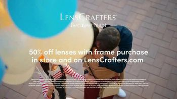 LensCrafters TV Spot, 'Every Sight: 50% Off Lenses' - Thumbnail 8