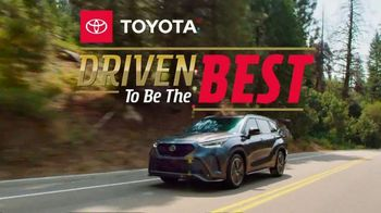 Toyota Driven to Be the Best TV Spot, 'Fourth of July: Be Better' [T2] - 30 commercial airings