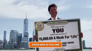 Publishers Clearing House TV Spot, '$5,000 a Week for Life: Thank You' - Thumbnail 3