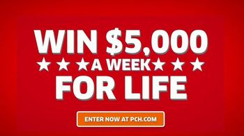 Publishers Clearing House TV Spot, '$5,000 a Week for Life: Thank You' - Thumbnail 4