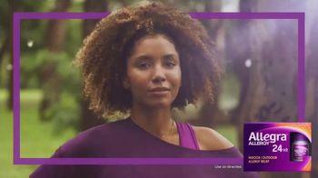 Allegra TV Spot, 'Allergens Won't Faze Me' - Thumbnail 5