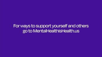 Mental Health Is Health TV Spot, 'Opening Up to Professionals' Featuring Jisela Delgado - Thumbnail 10