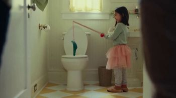 OxiClean Laundry & Home Sanitizer TV Spot, 'Toilet Fishing'