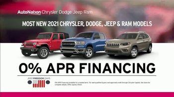 AutoNation Jeep Freedom Days TV Spot, '4th of July: 0% Financing' - Thumbnail 5