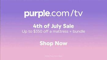 Purple Mattress 4th of July Sale TV Spot, 'Up to $350 off a Mattress + Bundle' - Thumbnail 9