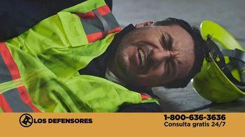 Los Defensores TV Spot, 'Accidente en el trabajo' con Jorge Jarrín, Jaime Jarrín [Spanish] - 2 commercial airings