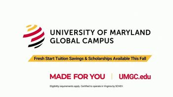 University of Maryland Global Campus TV Spot, 'Get a Fresh Start' - Thumbnail 10
