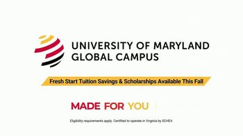University of Maryland Global Campus TV Spot, 'Get a Fresh Start' - Thumbnail 9