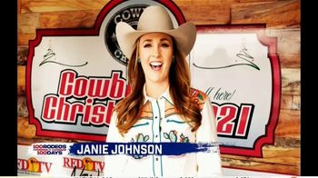 Cowboy Channel Plus TV Spot, '100 Rodeos in 100 Days: Janie at Reno Rodeo Tailgate Party' - Thumbnail 1