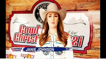 Cowboy Channel Plus TV Spot, '100 Rodeos in 100 Days: Janie at Reno Rodeo Tailgate Party' - Thumbnail 2