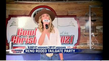 Cowboy Channel Plus TV Spot, '100 Rodeos in 100 Days: Janie at Reno Rodeo Tailgate Party' - Thumbnail 4