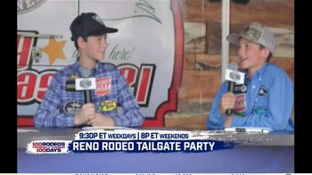Cowboy Channel Plus TV Spot, '100 Rodeos in 100 Days: Janie at Reno Rodeo Tailgate Party' - Thumbnail 5