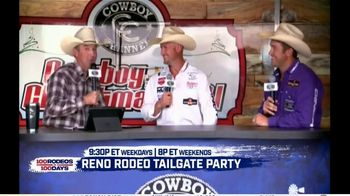 Cowboy Channel Plus TV Spot, '100 Rodeos in 100 Days: Janie at Reno Rodeo Tailgate Party' - Thumbnail 6