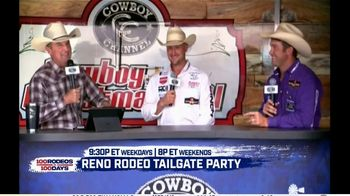 Cowboy Channel Plus TV Spot, '100 Rodeos in 100 Days: Janie at Reno Rodeo Tailgate Party' - Thumbnail 7