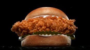Hardee's Hand-Breaded Chicken Sandwich TV Spot, 'Hot and Juicy' - Thumbnail 4