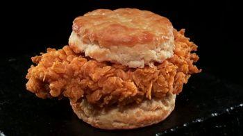 Hardee's Hand-Breaded Chicken Biscuit TV Spot, 'That Looks Crispy'
