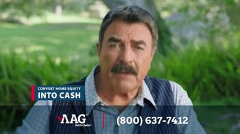 American Advisors Group (AAG) TV Spot, 'Convert Home Equity Into Cash' Featuring Tom Selleck - Thumbnail 7