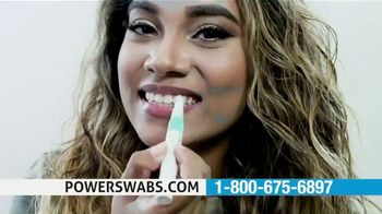 Power Swabs TV Spot, 'Stop Whitening the Old Fashion Way: Save 40% Off'