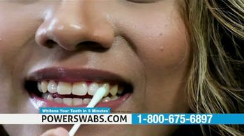 Power Swabs TV Spot, 'Stop Whitening the Old Fashion Way: Save 40% Off' - Thumbnail 3