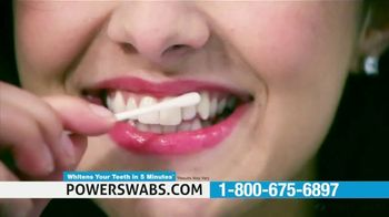 Power Swabs TV Spot, 'Stop Whitening the Old Fashion Way: Save 40% Off' - Thumbnail 5