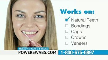 Power Swabs TV Spot, 'Stop Whitening the Old Fashion Way: Save 40% Off' - Thumbnail 6