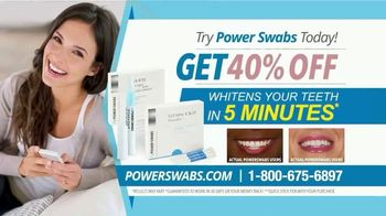 Power Swabs TV Spot, 'Stop Whitening the Old Fashion Way: Save 40% Off' - Thumbnail 7
