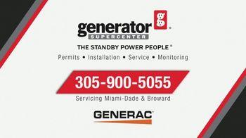 Generator Supercenter TV Spot, 'Hurricane Season: Generac Home Standby Generator' - Thumbnail 9
