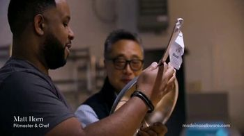 Made In Cookware TV Spot, 'The Best Chefs Are Using Made In' Ft. Matt Horn, Tom Colicchio, Grant Achatz - Thumbnail 2