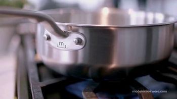 Made In Cookware TV Spot, 'The Best Chefs Are Using Made In' Ft. Matt Horn, Tom Colicchio, Grant Achatz - Thumbnail 3