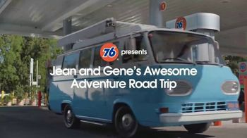 76 Gas Station TV Spot, 'Jean and Gene's Awesome Adventure Road Trip: Burrs' - Thumbnail 2