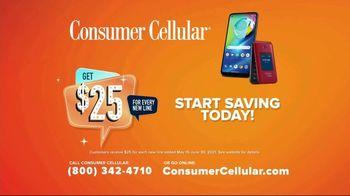 Consumer Cellular TV Spot, 'Better Value: Fishing: $25 Off' - Thumbnail 10