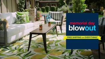 Overstock.com Memorial Day Blowout TV Spot, 'Up to 70% Off & Free Shipping on Everything' - Thumbnail 1