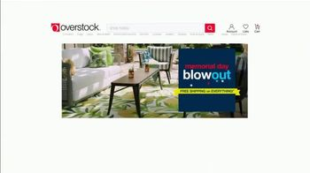 Overstock.com Memorial Day Blowout TV Spot, 'Up to 70% Off & Free Shipping on Everything' - Thumbnail 2