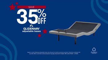 Ashley HomeStore Memorial Day Mattress Sale TV Spot, '35% Off Adjustable Bases, Zero Interest' - Thumbnail 5