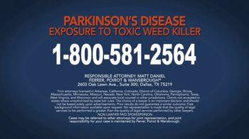 Ferrer, Poirot and Wansbrough TV Spot, 'Parkinson's Disease: Weed Killer' - Thumbnail 6