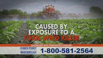 Ferrer, Poirot and Wansbrough TV Spot, 'Parkinson's Disease: Weed Killer' - Thumbnail 3