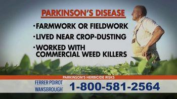 Ferrer, Poirot and Wansbrough TV Spot, 'Parkinson's Disease: Weed Killer' - Thumbnail 4