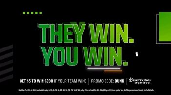 DraftKings Sportsbook TV Spot, 'Playoff Thrills: Bet $5 to Win $200' - Thumbnail 4