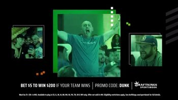 DraftKings Sportsbook TV Spot, 'Playoff Thrills: Bet $5 to Win $200' - Thumbnail 5