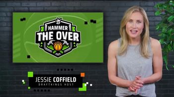 DraftKings Sportsbook TV Spot, 'Playoff Time: Hammer the Over'