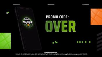 DraftKings Sportsbook TV Spot, 'Playoff Time: Hammer the Over' - Thumbnail 9