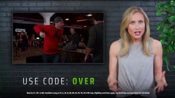 DraftKings Sportsbook TV Spot, 'Playoff Time: Hammer the Over' - Thumbnail 7