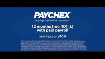 Paychex TV Spot, 'Big Moment: 12 Months Free 401k' - Thumbnail 9