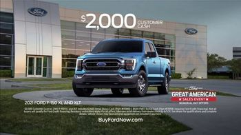 Ford Great American Sales Event TV Spot, 'Memorial Day: Truck Lineup' [T2] - Thumbnail 4