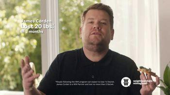 WW TV Spot, 'Pizza: 50% Off' Featuring James Corden - Thumbnail 5