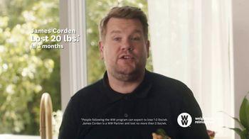 WW TV Spot, 'Pizza: 50% Off' Featuring James Corden - Thumbnail 6