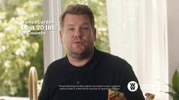 WW TV Spot, 'Pizza: 50% Off' Featuring James Corden - Thumbnail 7