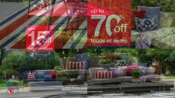 Overstock.com Memorial Day Blowout TV Spot, 'Christopher Knight Patio Furniture Savings and Free Shipping' - Thumbnail 6
