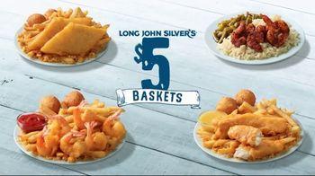 Long John Silver's $5 Baskets TV Spot, 'Sail In' - Thumbnail 2